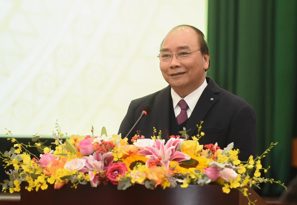 Thủ tướng yêu cầu năm 2021, ngành tài chính phải đổi mới tư duy theo hướng tài chính vì lợi ích của nền kinh tế, sự phát triển bền vững của đất nước, lợi ích của cộng đồng doanh nghiệp và nhân dân.Ảnh: VGP