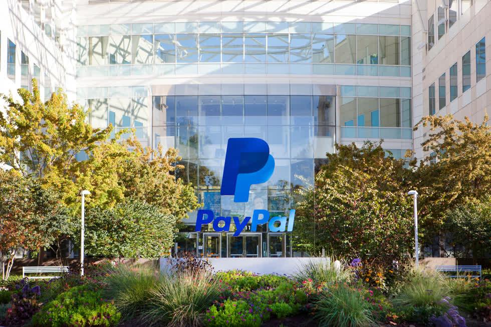 Công ty PayPal Holdings Inc (PYPL). Ảnh: Wettanbieter Bonus.