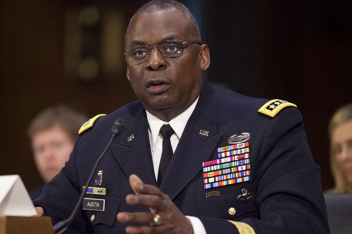 Tướng 4 sao Lloyd Austin là một trong các ứng cử viên giữ chức Bộ trưởng Quốc dưới thời chính quyền của ông Joe Biden. Ảnh: Military.com