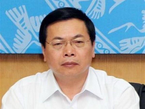 ÔngVũ Huy Hoàng, cựu Bộ trưởng Bộ Công Thương. Ảnh: TTXVN