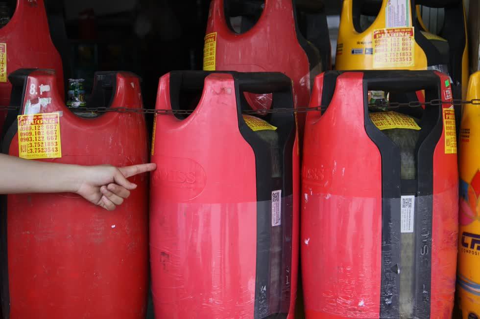 Giá gas giảm mạnh do tình trạng dư nguồn cung.