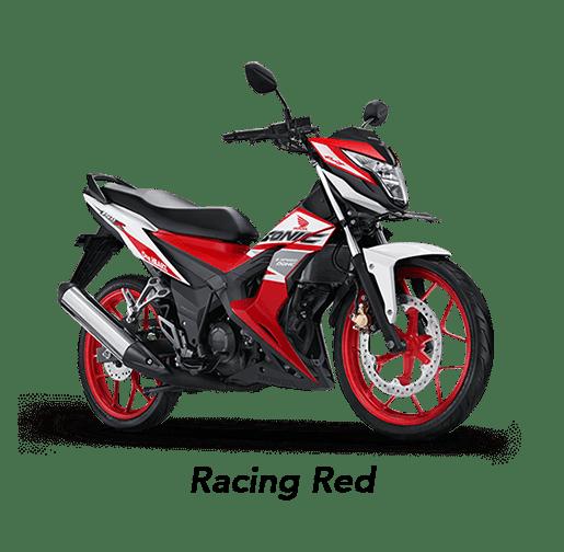 Honda Sonic 150R 2019 màu đỏ Racing.