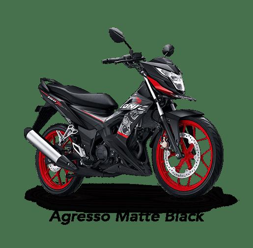 Honda Sonic 150R 2019 màu đen Agresso Matte Black.