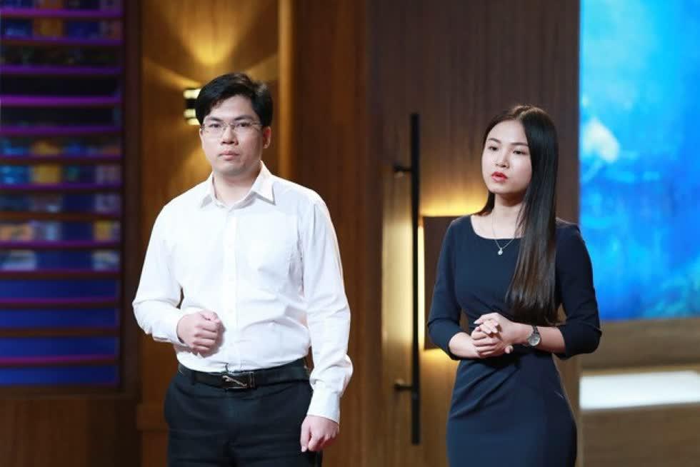 Abivin từng nhận được cam kết đầu tư200.000 USD từ Shark Dzung trong chương trình Shark Tank Việt Nam. Ảnh: TVHub