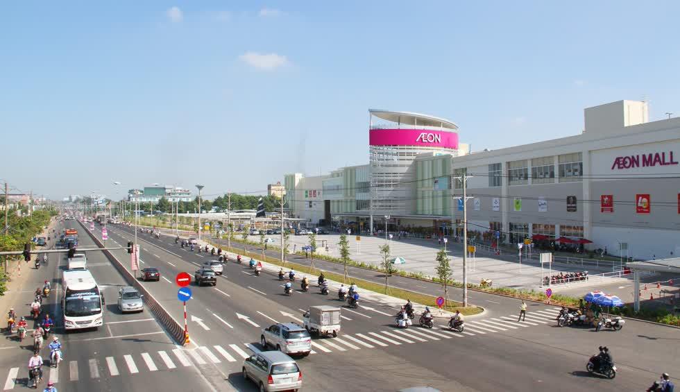 Giá bán căn hộ ở Thuận An đã tăng 21% trong 9 tháng đầu năm nay. Ảnh: Phúc Hưng Group