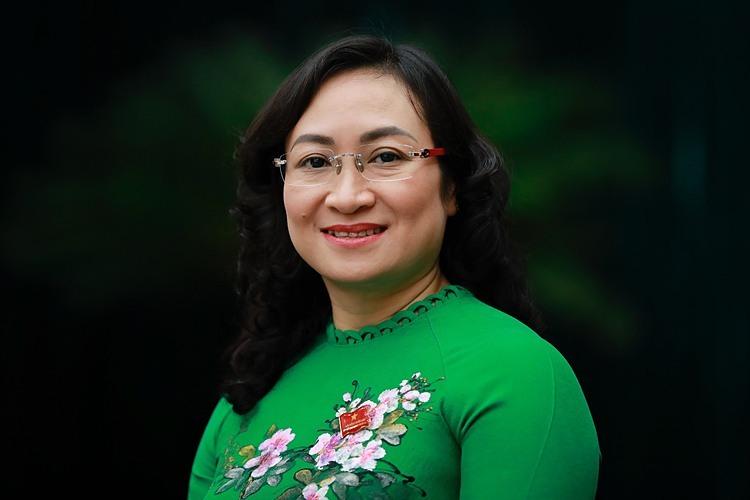 BàPhan Thị Thắng, tân Phó Chủ tịch UBND TP.HCM. Ảnh: VnExpress