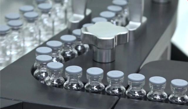 Dây chuyền sản xuất vaccine của Công ty Cổ phần Công nghệ sinh học Dược Nanogen. Ảnh: Nanogen