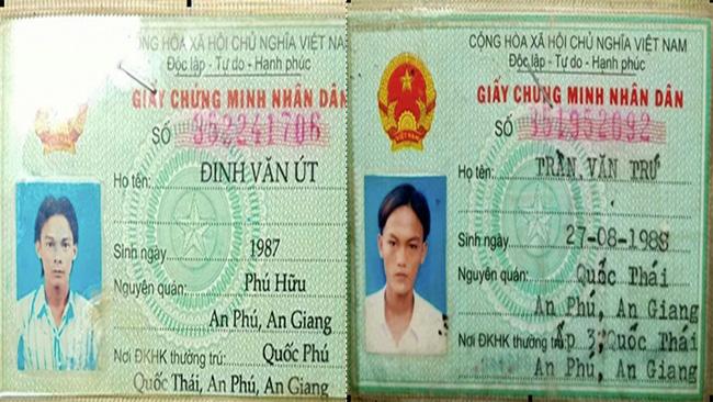 Hai người trốn cách ly tại tỉnh An Giang. Ảnh: Dân Việt