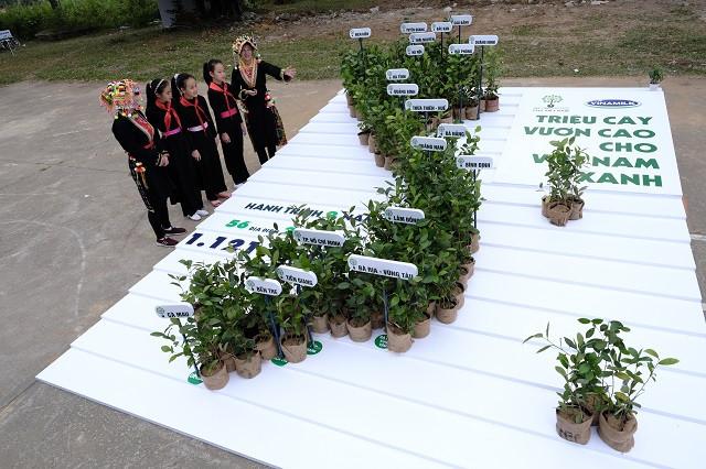 Vinamilk hoàn thành mục tiêu trồng hơn 1,1 triệu cây xanh cho Việt Nam trong năm 2020