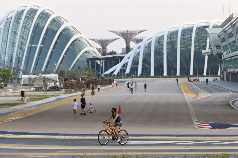 Singapore hiện có gần 3.000 ca nhiễm và 9 ca tử vong vì COVID-19.
