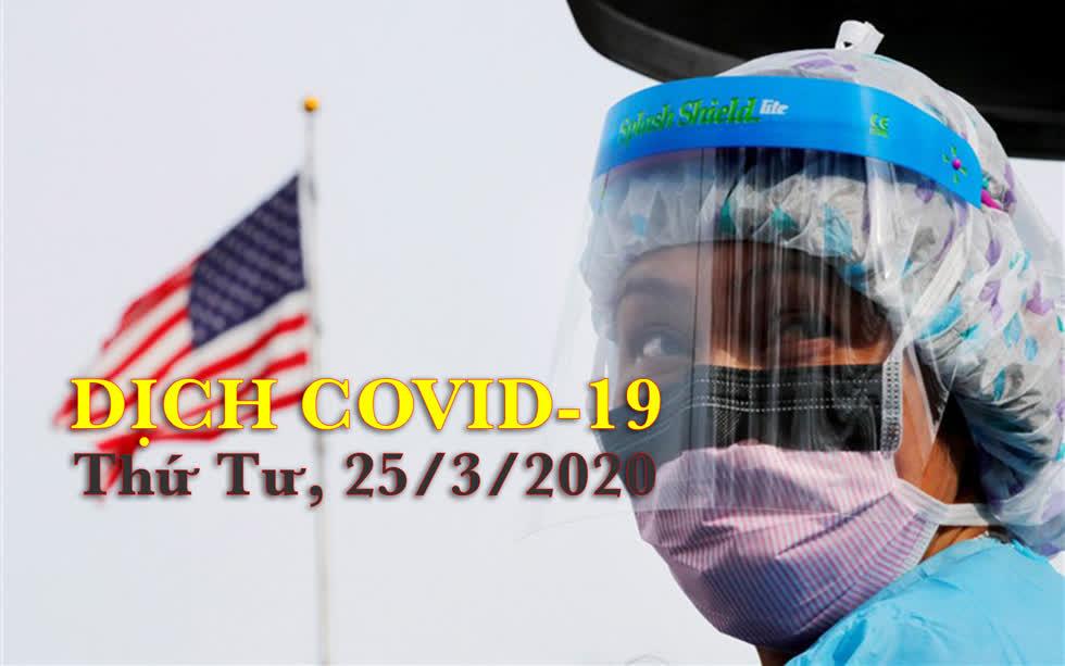 Cập nhật dịch COVID-19 ngày 25/3: Iran cảnh báo làn sóng bùng phát thứ 2