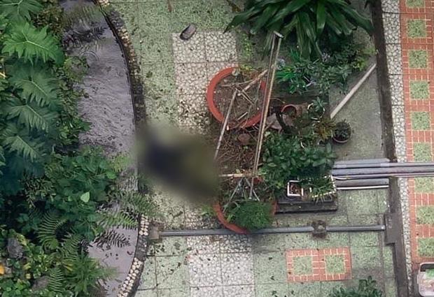 Hiện trường nơi phát hiện thi thể nạn nhân (Ảnh: Facebook).