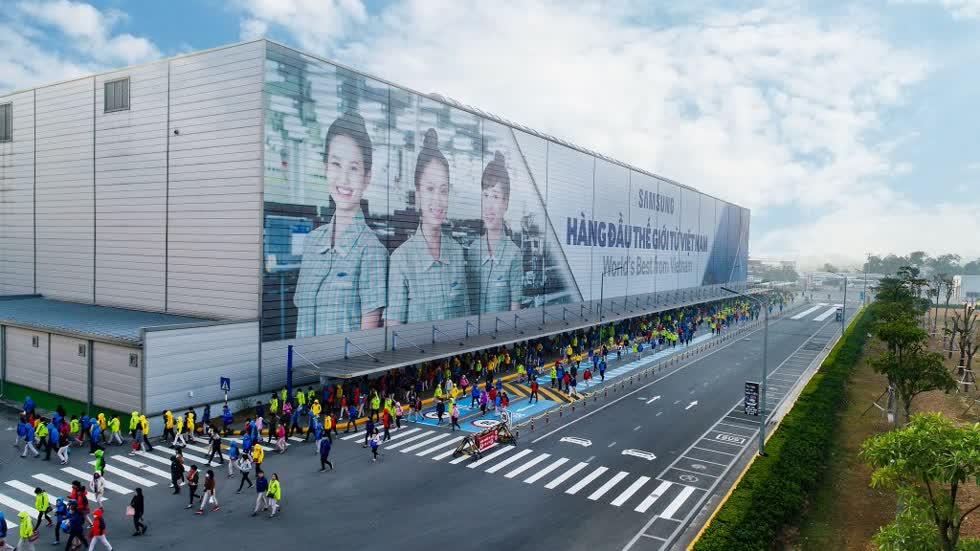 Bệnh nhân 262 là nhân viên của Samsung Việt Nam.