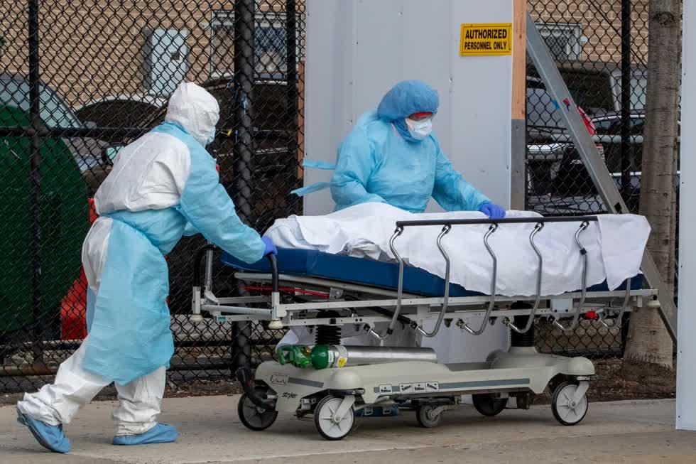 Mỹ vẫn là quốc gia bị ảnh hưởng nặng nề nhất bởi dịch COVID-19 tính tới thời điểm này.