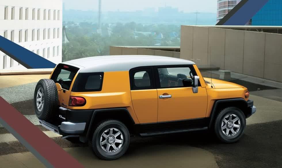 Tại UAE và Nam Phi, Toyota FJ Cruiser 2020 không phải là mẫu xe quá rẻ.