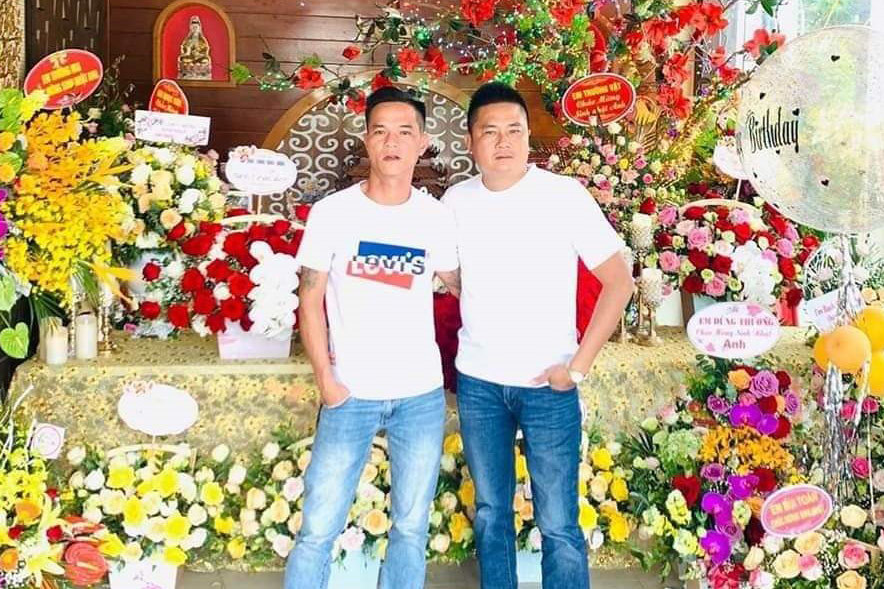 Đối tượng Đào Văn Bằng (trái) và Phạm Xuân Hòa (phải). Ảnh: Vietnamnet.