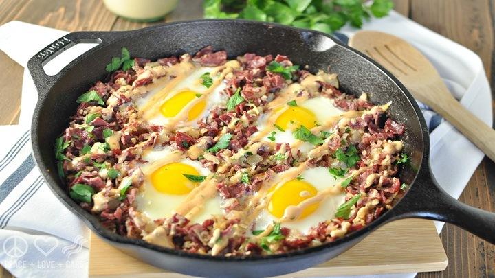 Thịt bò xào trứng cho cả nhà tăng sức đề kháng
