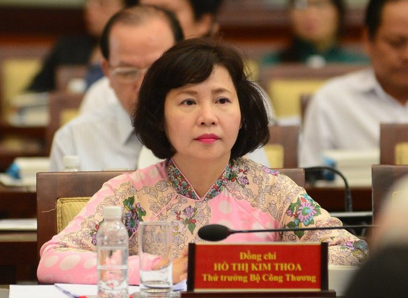 Bà Hồ Thị Kim Thoa. Ảnh:TTX
