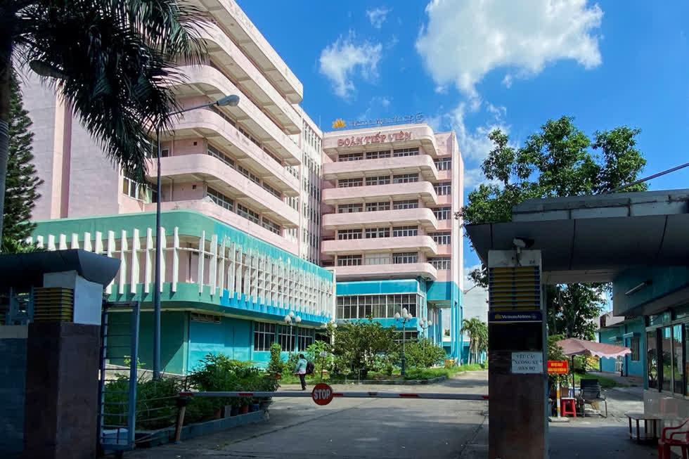 Khu cách ly riêng của Vietnam Airlines trong trụ sở ở đường Hồng Hà, quận Tân Bình. Ảnh: Vnexpress.