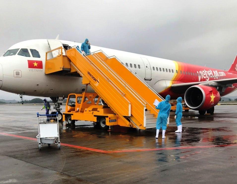 Đường bay Hà Nội - TP.HCM và ngược lại được khai thác tổng tần suất 20 chuyến khứ hồi/ngày