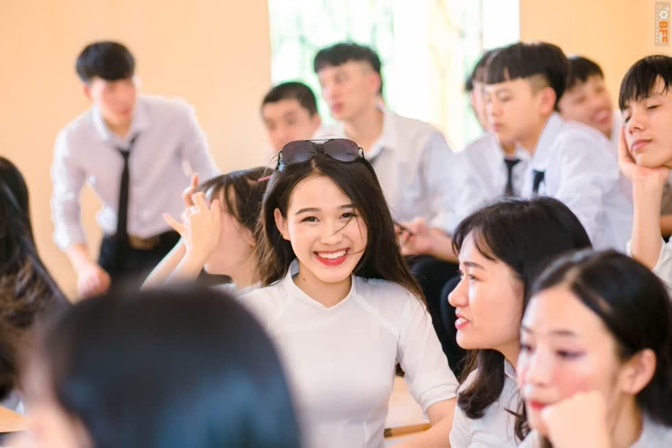 Ở vòng sơ khảo cuộc thi hồi tháng 7, cô gái để lại ấn tượng bởi nhan sắc trong trẻo.