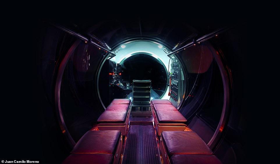 Tàu ngầm được chế tạo bởi Triton Submarines, công ty đã sản xuất Limiting Factor –con tàu đã xác lập kỷ lục khi lặn tới điểm sâu nhất dưới đáy biển - khe nứt Mariana.