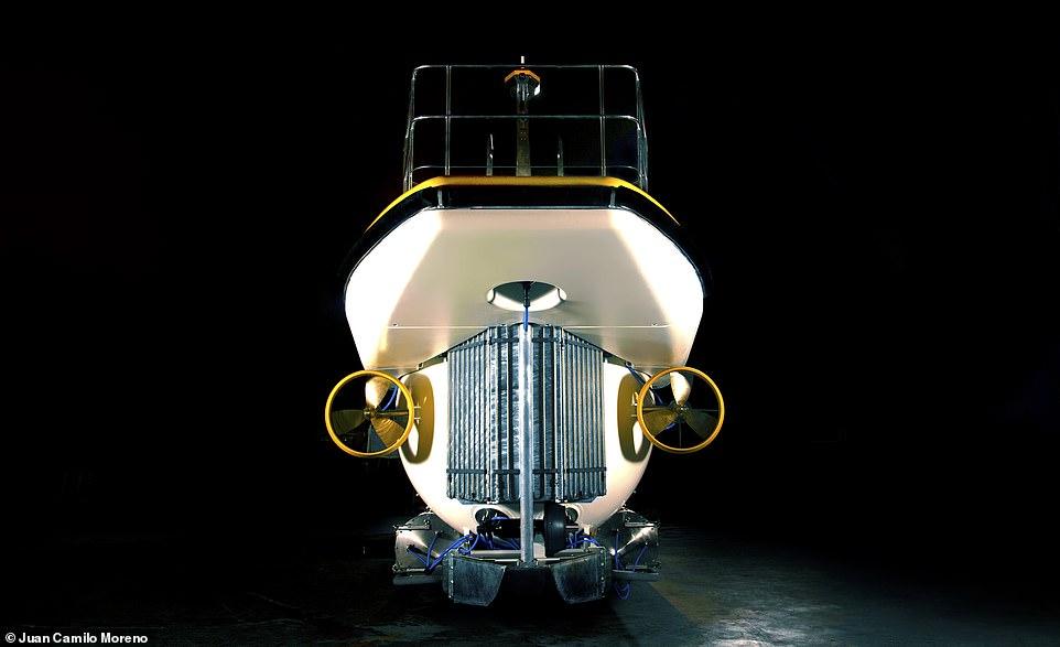 Tàu ngầm Triton Deepview 24 được làm theo đơn đặt hàng của Hệ thống Khách sạn nghỉ dưỡng Vinpearl nhằm cung cấp những trải nghiệm cho du khách tại đảo Hòn Tre ở Nha Trang, Việt Nam. Tàu đã được thử nghiệm trên biển vào tháng 3 vừa qua.