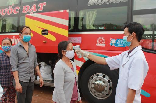 Đảm bảo an toàn tuyệt đói về phòng chống COVID-19 đối với hành khách vận chuyển trên tất cả phương tiện giao thông.