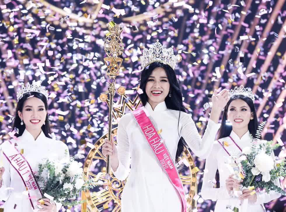 Chung kếtHoa hậu Việt Nam 2020để lại dấu ấn trong lòng khán giả với những màn trình diễn đặc sắc. Ảnh:FB Hoa Hậu Việt Nam.