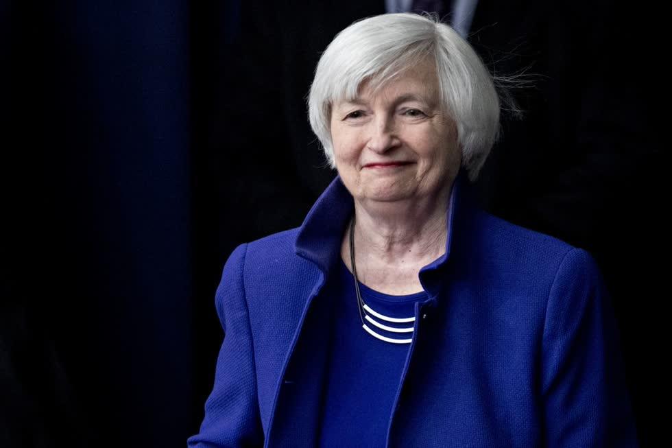 Cựu Chủ tịch FED Janet Yellen. Ảnh: Bloomberg