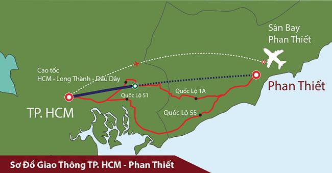 Khởi công tuyến cao tốc Dầu Giây – Phan Thiết vào quý 3/2020