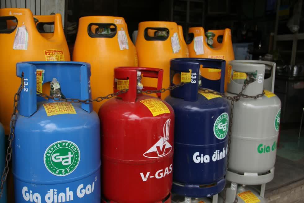 Giá gas tiếp tục giảm mạnh
