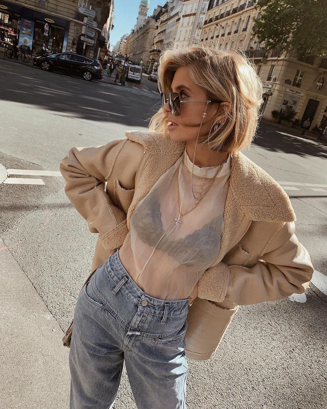 (Ảnh: Instagram @xeniaadonts và áo lót H&M)