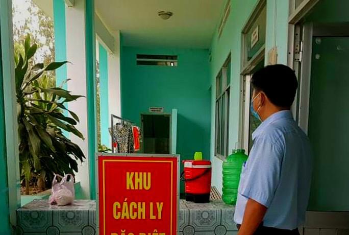 Một trong những khu vực cách ly trên địa bàn tỉnh An Giang.