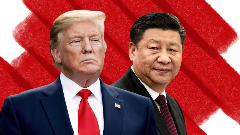 Căng thẳng giữa hai nền kinh tế lớn nhất thế giới sẽ kéo theo nhiều hệ lụy. Ảnh: CNN.