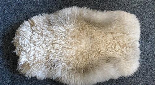 Chăn lông cừu thật ngay cả khi bạn đổ nước vào thì nó vẫn cho hơi ấm.