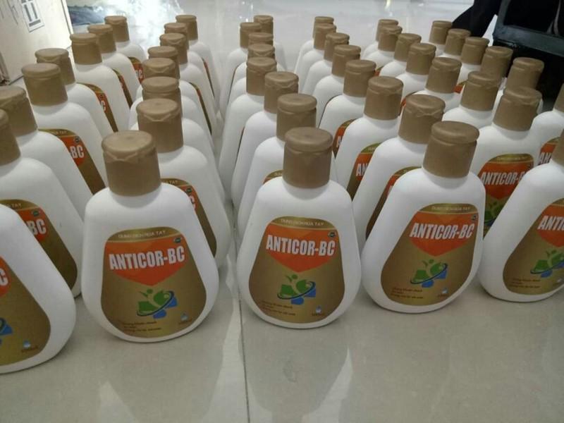Thu hồi gel rửa tay khô ANTI-COR trên toàn quốc
