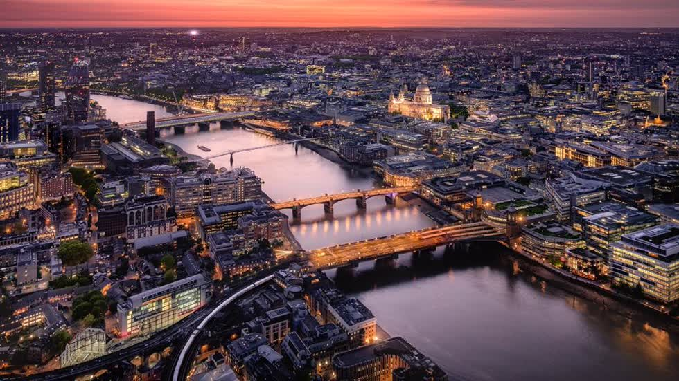 Thị trường bất động sản London ghi nhận mức tăng thấp nhất từ 2015 đến nay - 0,5%.