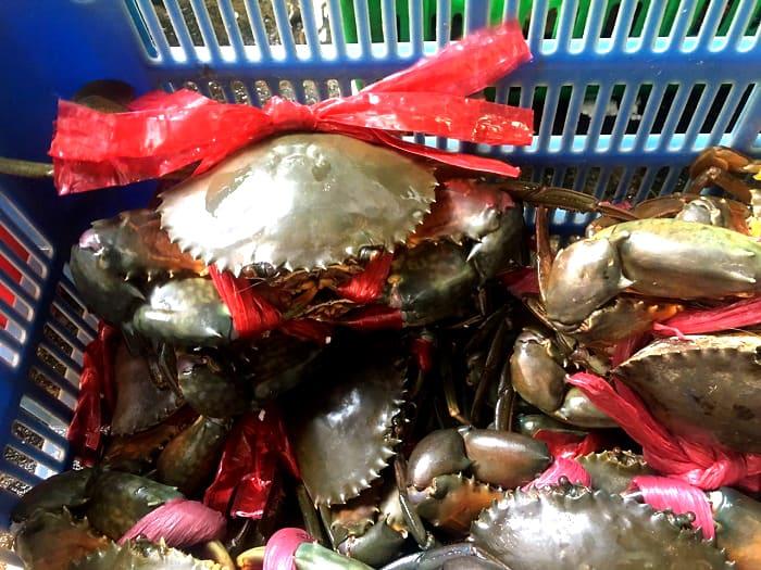Thị trường tuần qua: Rau xanh, cá tra, cua biển đồng loạt tăng giá