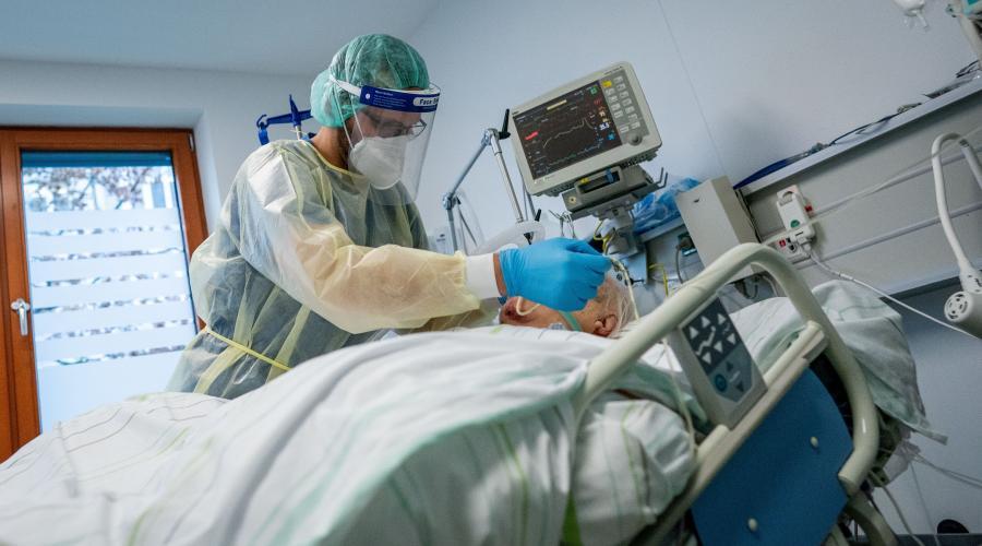 Số ca nhiễm COVID-19 nặng ở Đức đang gia tăng. Ảnh: Báo Quốc tế.