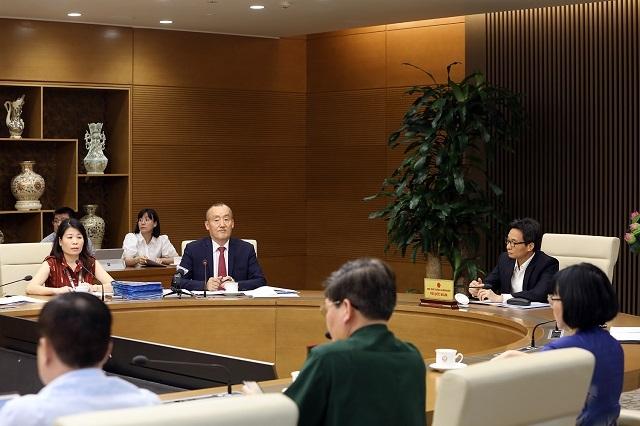 Các chuyên gia của Tổ chức Y tế thế giới tại Việt Nam đánh giá cao cácbiện pháp phòng, chống dịch bệnh của Việt Nam. Ảnh: VGP.