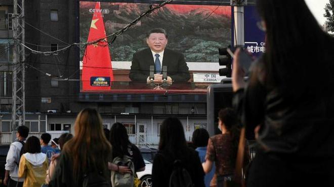 Bài phát biểu của ông Tập được truyền thông nhà nước Trung Quốc đăng tải. Ảnh:AFP