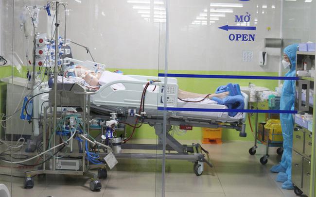Bệnh nhân 91đang điều trị tại Bệnh viện Chợ Rẫy, đã cho lọc máu trở lại.