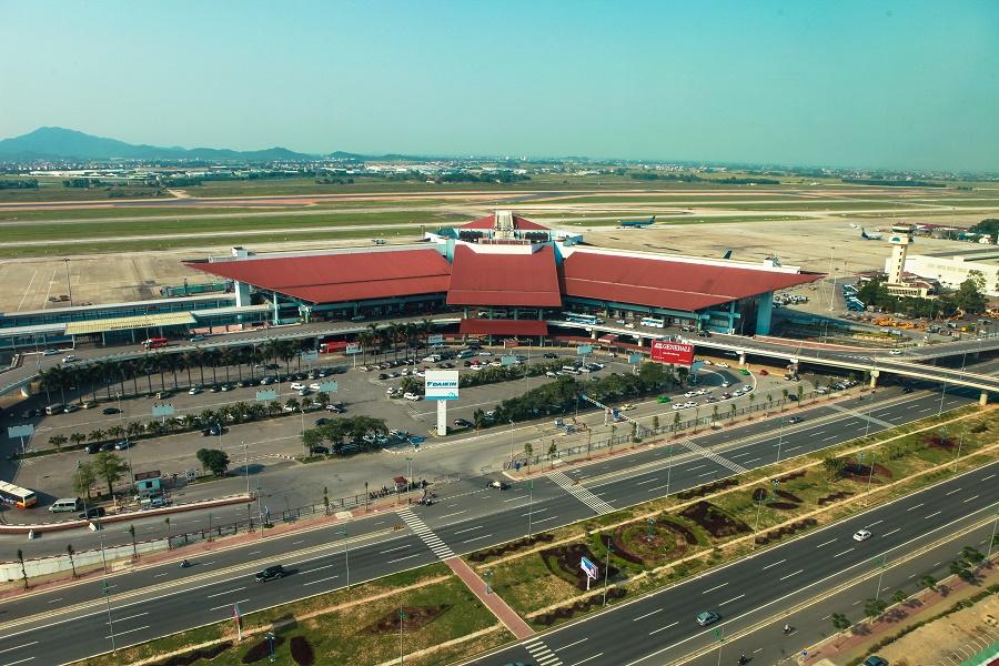 Sân bay quốc tế Nội Bài. Ảnh: Internet.