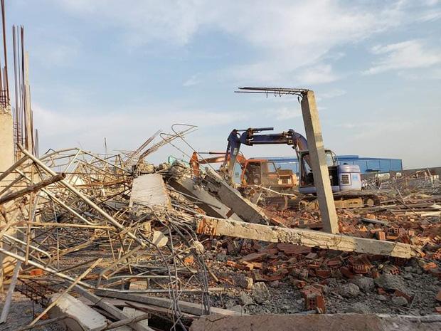 Nhà thầu thi công vụ tường sập đè chết 10 người ở tỉnh Đồng Nai nói trước khi xảy ra vụ việc có cơn gió lốc?Ảnh: Nhịp Sống Việt