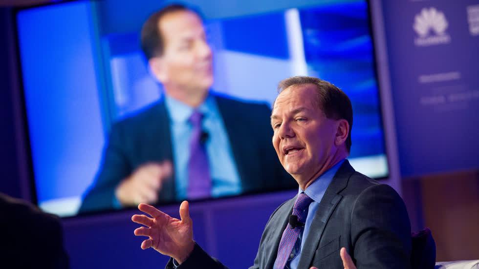 Huyền thoại Paul Tudor Jones – Nhà sáng lập và giám đốc điều hành Tudor Investment. Ảnh: CNBC.