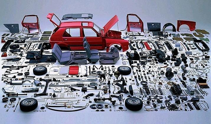 Linh kiện nhập khẩu ô tô sẽ được giảm thuế 0%.
