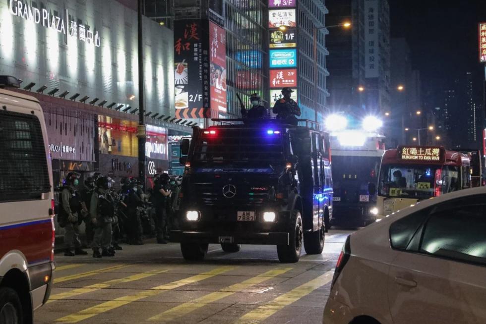 Biểu tình ở Hong Kong ngày càng diễn biến phức tạp.
