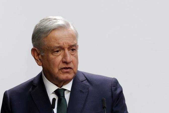 Tổng thống Mexico phát biểu tại Dinh Quốc gia ở Mexico City, Mexico, hôm 1/9. Ảnh: Reuters