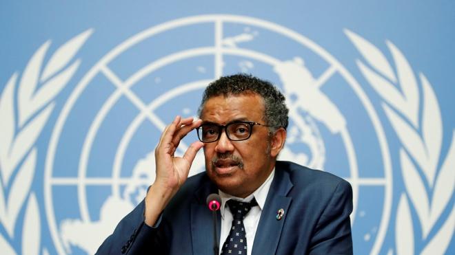 Tổng giám đốc  WHO Tedros Adhanom Ghebreyesus. Ảnh:Reuters.